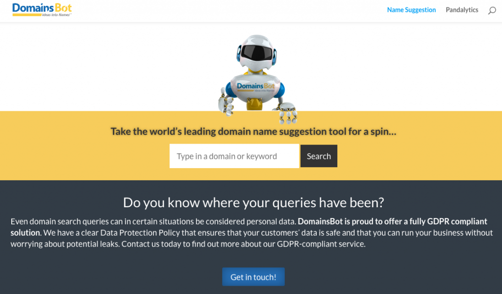 20 Domain Name Generators to Get Awesome Ideas 15