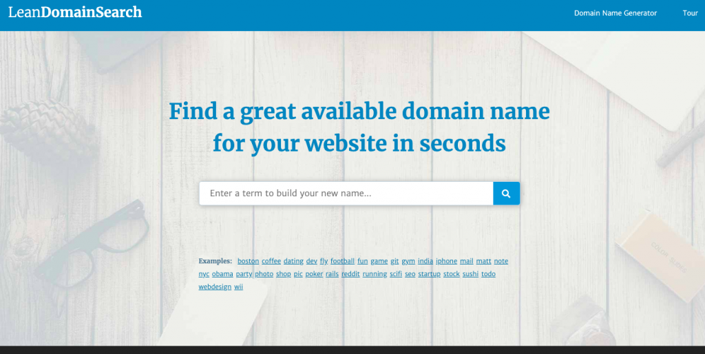 20 Domain Name Generators to Get Awesome Ideas 5