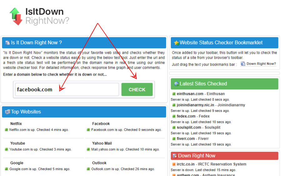 10 Website Down Checker Tools to See if Your URL is Down 2